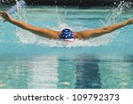 female athlete performs a... | Shutterstock . vector #109792373