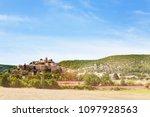 banon vilage in alpes de haute...   Shutterstock . vector #1097928563