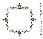 vintage baroque victorian frame ... | Shutterstock .eps vector #1097950727