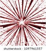 abstract geometrical burst... | Shutterstock .eps vector #1097961557