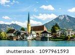 tegernsee lake in bavaria  ...   Shutterstock . vector #1097961593