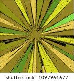 abstract geometrical burst... | Shutterstock .eps vector #1097961677