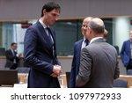 dutch finance minister wopke...   Shutterstock . vector #1097972933