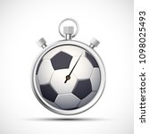 icon sports stopwatch with a... | Shutterstock .eps vector #1098025493