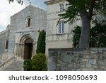 medieval village in france | Shutterstock . vector #1098050693