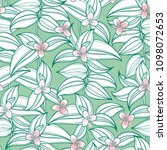 vector seamless pattern with... | Shutterstock .eps vector #1098072653