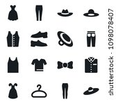 set of simple vector isolated... | Shutterstock .eps vector #1098078407