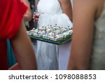 canapes catering wedding | Shutterstock . vector #1098088853