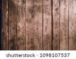 background of old wood boards ...   Shutterstock . vector #1098107537