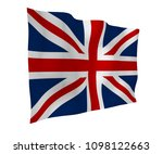 waving flag of the great... | Shutterstock . vector #1098122663