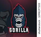Gorilla Mascot Logo Design