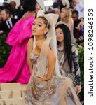 ariana grande attends the 2018... | Shutterstock . vector #1098246353