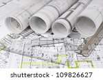 architectural project | Shutterstock . vector #109826627