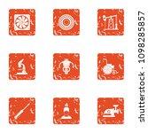 alternative fuel icons set.... | Shutterstock .eps vector #1098285857