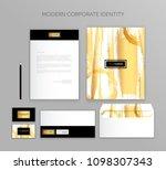 corporate identity business set....   Shutterstock .eps vector #1098307343