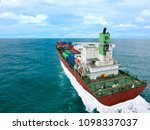 ship cargo containers... | Shutterstock . vector #1098337037