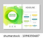brochure template layout design | Shutterstock .eps vector #1098350687