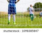 football training game for kids....   Shutterstock . vector #1098385847