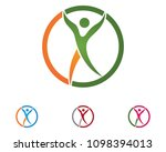 health success people care logo ... | Shutterstock .eps vector #1098394013
