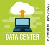 data center technology | Shutterstock .eps vector #1098395213