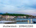 sunset at adriatic coast  senj  ...   Shutterstock . vector #1098412283