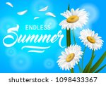 endless summer seasonal banner... | Shutterstock .eps vector #1098433367