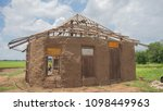 earthen building in country.... | Shutterstock . vector #1098449963