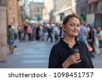 nice portrait of a middle aged...   Shutterstock . vector #1098451757