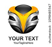 creative abstract digital... | Shutterstock .eps vector #1098485567