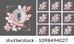 vector illustration collection... | Shutterstock .eps vector #1098494027