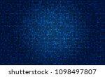 abstract digital technology... | Shutterstock .eps vector #1098497807