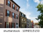 nice charlestown district ... | Shutterstock . vector #1098515153