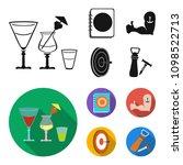 menu  armor with tattoo  darts  ... | Shutterstock .eps vector #1098522713