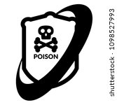 poison and shield.protection... | Shutterstock .eps vector #1098527993