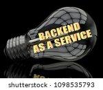 backend as a service  ... | Shutterstock . vector #1098535793
