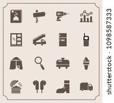modern  simple vector icon set...   Shutterstock .eps vector #1098587333