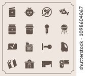 modern  simple vector icon set... | Shutterstock .eps vector #1098604067