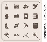 modern  simple vector icon set... | Shutterstock .eps vector #1098622097