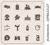 modern  simple vector icon set... | Shutterstock .eps vector #1098622127