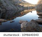 the norwegian fjord lyusebotn ... | Shutterstock . vector #1098640343