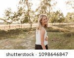 young  attractive and happy...   Shutterstock . vector #1098646847
