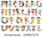 illustration of alphabets in... | Shutterstock . vector #109867673