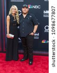 luke combs attends the red... | Shutterstock . vector #1098677807