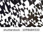 dark black vector abstract... | Shutterstock .eps vector #1098684533