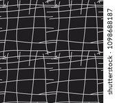 hand drawn lattice  organic... | Shutterstock .eps vector #1098688187