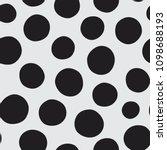 seamless vector pattern of hand ... | Shutterstock .eps vector #1098688193