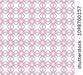 seamless geometric line pattern ... | Shutterstock .eps vector #1098700157