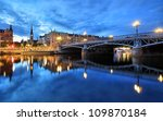 Stockholm Cityscape - stock photo