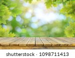 empty table background   Shutterstock . vector #1098711413