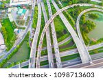 intersection infinity sign... | Shutterstock . vector #1098713603